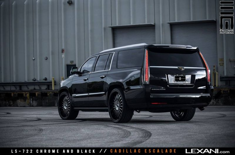 Lexani Wheels Alufelgen Exclusive Motoring Tuning Cadillac Escalade (2)