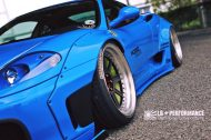 Liberty Walk Ferrari 360 Modena Bodykit Tuning 6 190x126 Fertig   Liberty Walk Widebody Kit für den Ferrari F360 Modena