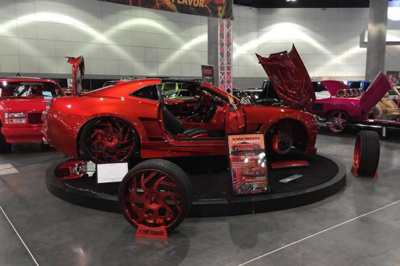Los Angeles DUB Show 2016 Tuning Forgiato Wheels (10)