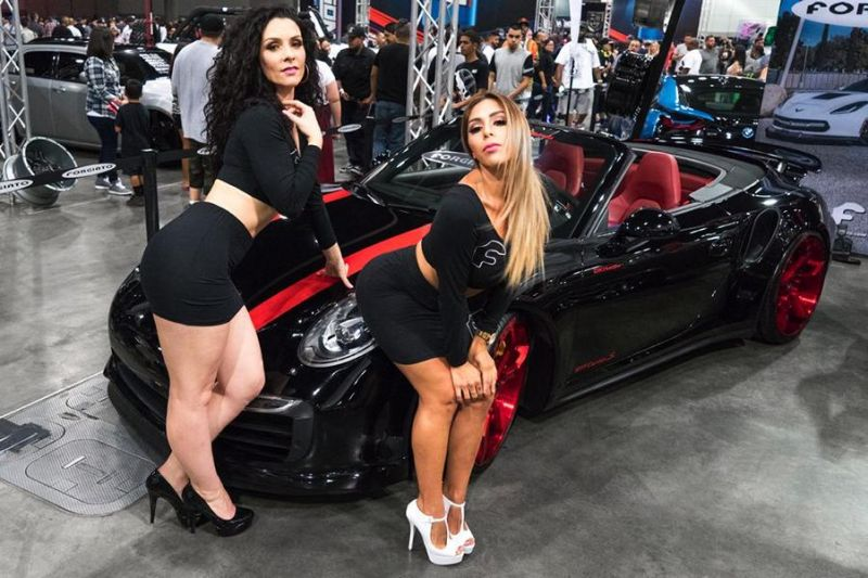 Los Angeles DUB Show 2016 Tuning Forgiato Wheels (4)