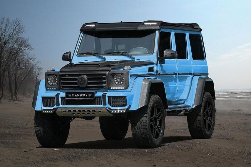 Mansory Monster Mercedes Benz G500 4×4² Tuning 2016 2 Ohne Worte   Mansory's Monster Mercedes Benz G500 4×4²