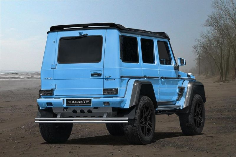 Mansory Monster Mercedes Benz G500 4×4² Tuning 2016 4 Ohne Worte   Mansory's Monster Mercedes Benz G500 4×4²