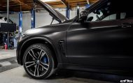 Matte Black BMW X5 M Gets Some Aftermarket Goodies Installed 14 190x119 Mattschwarzer BMW X5 M F85 by European Auto Source