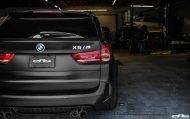 Matte Black BMW X5 M Gets Some Aftermarket Goodies Installed 19 190x119 Mattschwarzer BMW X5 M F85 by European Auto Source