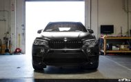 Matte Black BMW X5 M Gets Some Aftermarket Goodies Installed 22 190x119 Mattschwarzer BMW X5 M F85 by European Auto Source
