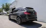 Matte Black BMW X5 M Gets Some Aftermarket Goodies Installed 25 190x119 Mattschwarzer BMW X5 M F85 by European Auto Source