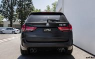 Matte Black BMW X5 M Gets Some Aftermarket Goodies Installed 26 190x119 Mattschwarzer BMW X5 M F85 by European Auto Source