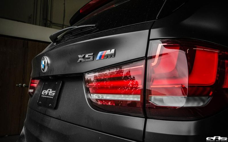 Matte Black BMW X5 M Gets Some Aftermarket Goodies Installed 30 Mattschwarzer BMW X5 M F85 by European Auto Source
