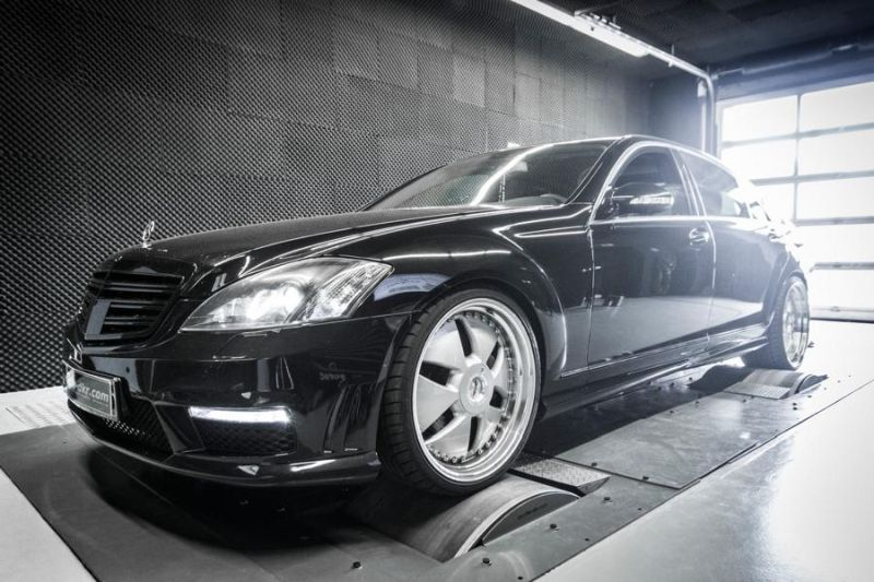 Mcchip DKR Mercedes S320 CDI W221 Chiptuning 278PS 540NM 1 Fett   Mcchip DKR Mercedes S320 CDI mit 278PS & 540NM