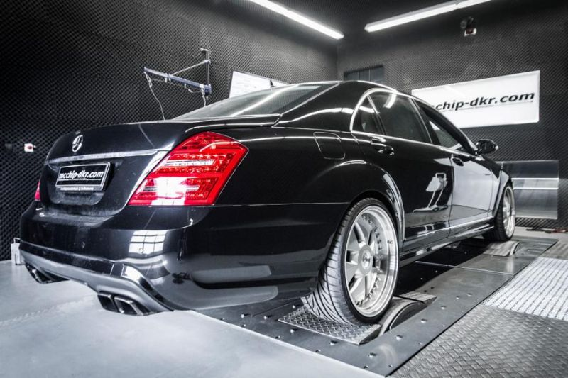 Mcchip DKR Mercedes S320 CDI W221 Chiptuning 278PS 540NM 3 Fett   Mcchip DKR Mercedes S320 CDI mit 278PS & 540NM