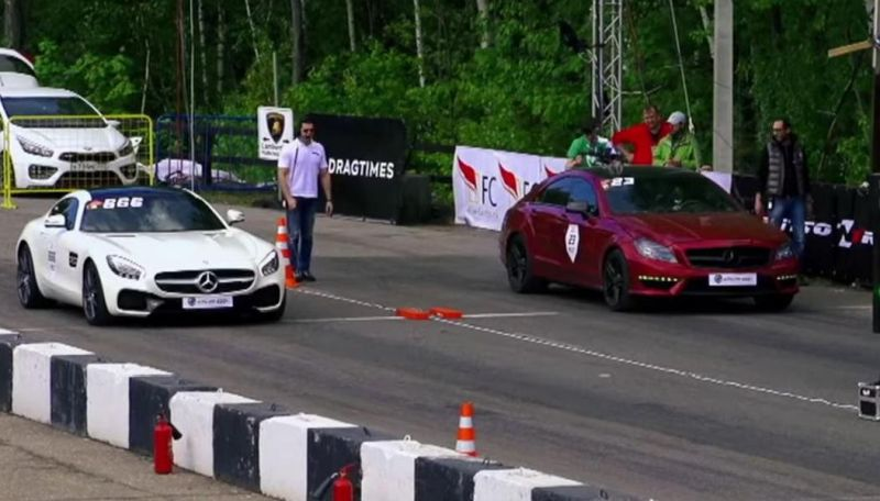 Mercedes-AMG GT S vs. CLS63 AMG vs. ML63 AMG Tuning 1