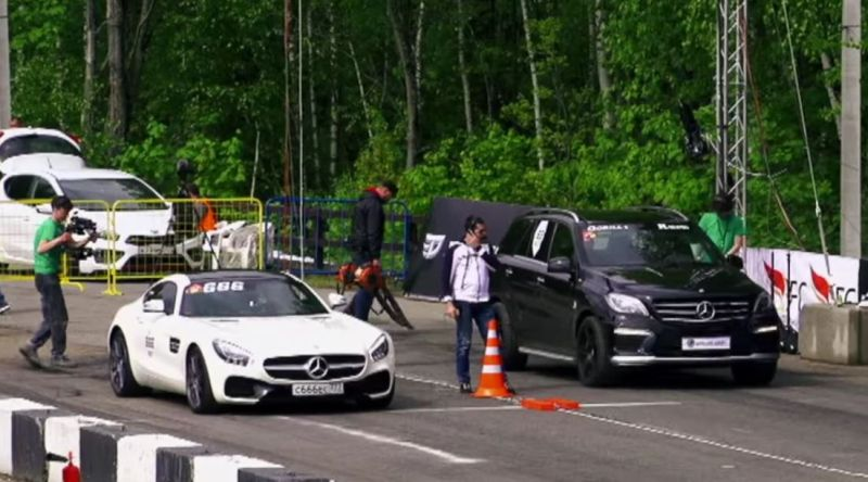 Mercedes-AMG GT S vs. CLS63 AMG vs. ML63 AMG Tuning 2