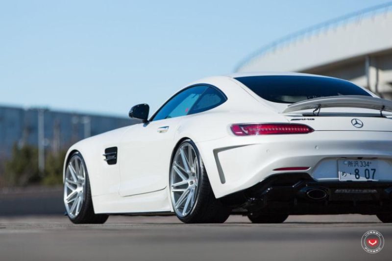 Mercedes Benz AMG GTs Hamana Widebody Japan Tuning 2 Fett   Mercedes Benz AMG GTs von Hamana aus Japan
