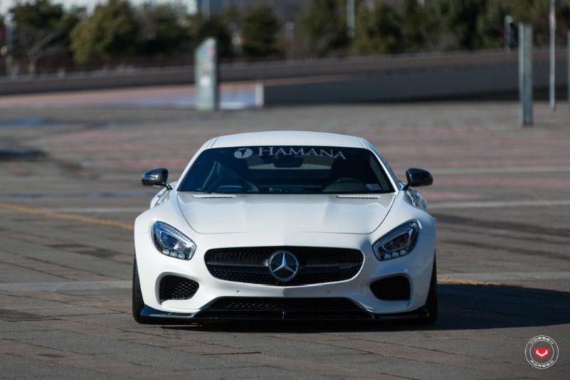 Mercedes Benz AMG GTs Hamana Widebody Japan Tuning 3 Fett   Mercedes Benz AMG GTs von Hamana aus Japan