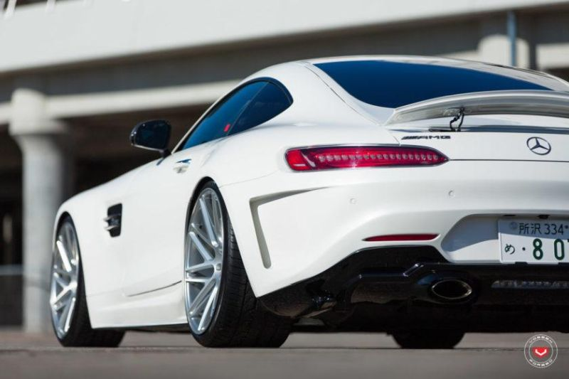 Mercedes-Benz AMG GTs Hamana Widebody Japan Tuning (7)