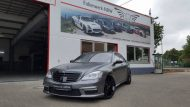 Mercedes Benz S Klasse W221 Folienwerk NRW Satin Dark Grey Folierung Wrap Tuning 1 190x107 Mercedes Benz S Klasse W221 by Folienwerk NRW