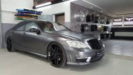 Mercedes Benz S Klasse W221 Folienwerk NRW Satin Dark Grey Folierung Wrap Tuning 2 190x107 Mercedes Benz S Klasse W221 by Folienwerk NRW