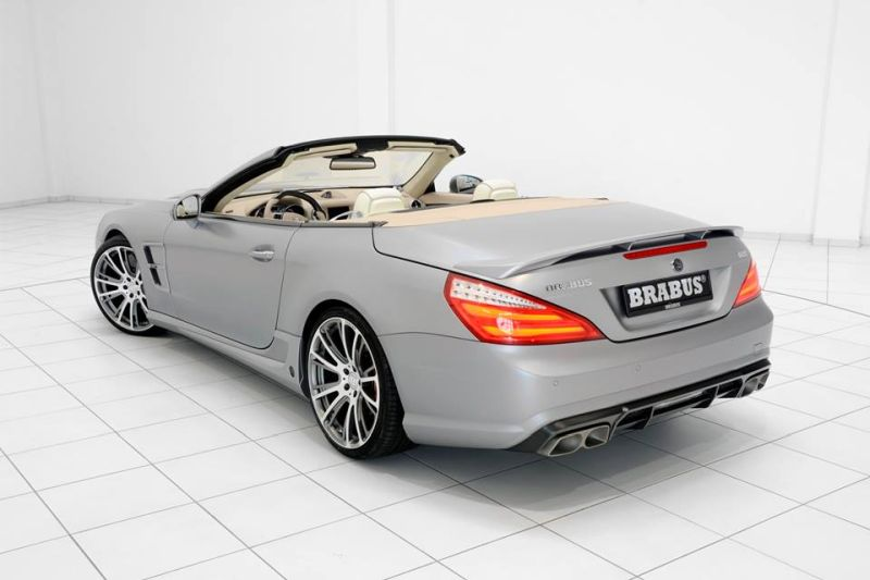 Mercedes SL65 AMG Brabus T65 RS Kit Tuning (11)