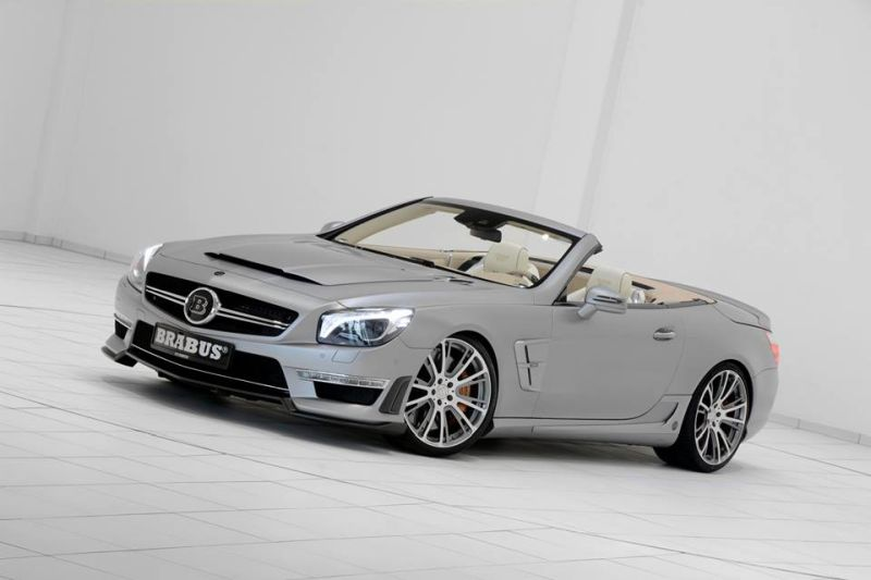 Mercedes SL65 AMG Brabus T65 RS Kit Tuning (12)