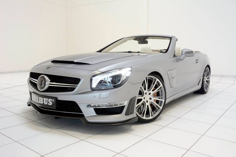 Mercedes SL65 AMG Brabus T65 RS Kit Tuning (15)