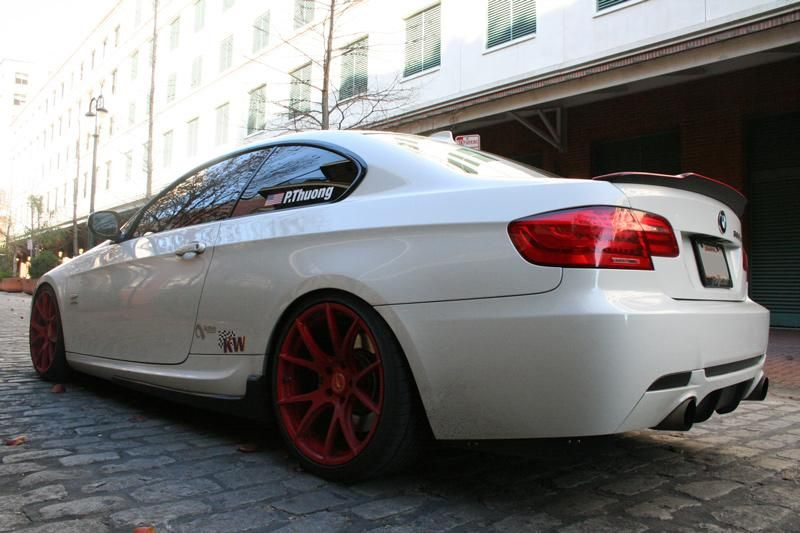 ModBargains BMW E92 335is Forgestar CF5V Tuning Coupe 4 Schick   ModBargains BMW E92 335is auf Forgestar CF5V Alu's