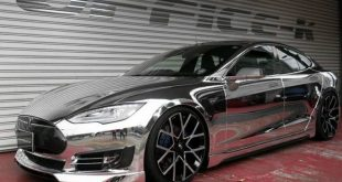 Office K Chrom Wrap Folierung Tesla Model S P85D Tuning Forgiato ECL 1 1 e1469871747271 310x165 Voll Chrom Optik  > Office K veredelt das Tesla Model S