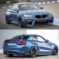 PSM Dynamic BMW M2 F87 Coupe 2016 Tuning Carbon Widebody Kit 1 190x190 Vorschau: Etwas fetter   PSM Dynamic BMW M2 F87 Coupe