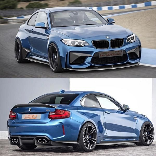 PSM Dynamic BMW M2 F87 Coupe 2016 Tuning Carbon Widebody Kit 1 Vorschau: Etwas fetter   PSM Dynamic BMW M2 F87 Coupe