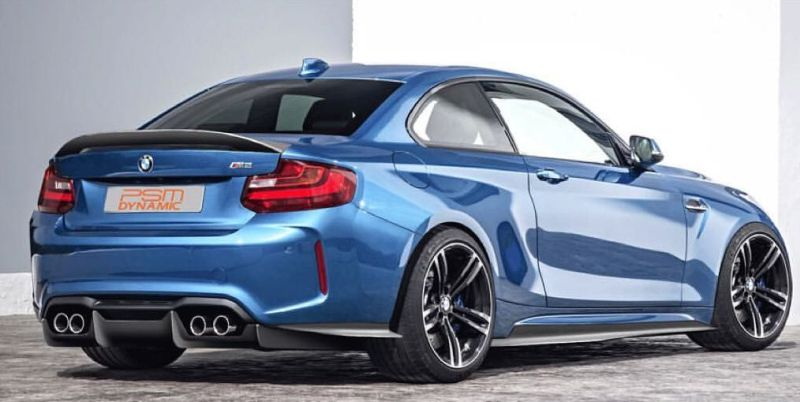 PSM Dynamic BMW M2 F87 Coupe 2016 Tuning Carbon Widebody Kit 2 Vorschau: Etwas fetter   PSM Dynamic BMW M2 F87 Coupe