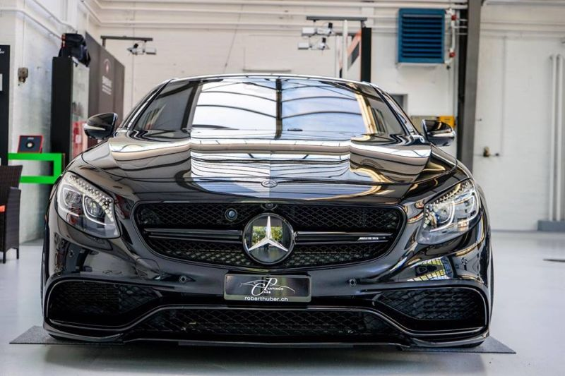 Platinum Cars Mercedes S63 AMG C217 Coupe Tuning Black ADV.1 Wheels 1 Mafia Kiste! Platinum Cars Mercedes S63 AMG C217 Coupe