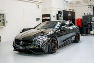 Platinum Cars Mercedes S63 AMG C217 Coupe Tuning Black ADV.1 Wheels 2 190x127 Mafia Kiste! Platinum Cars Mercedes S63 AMG C217 Coupe
