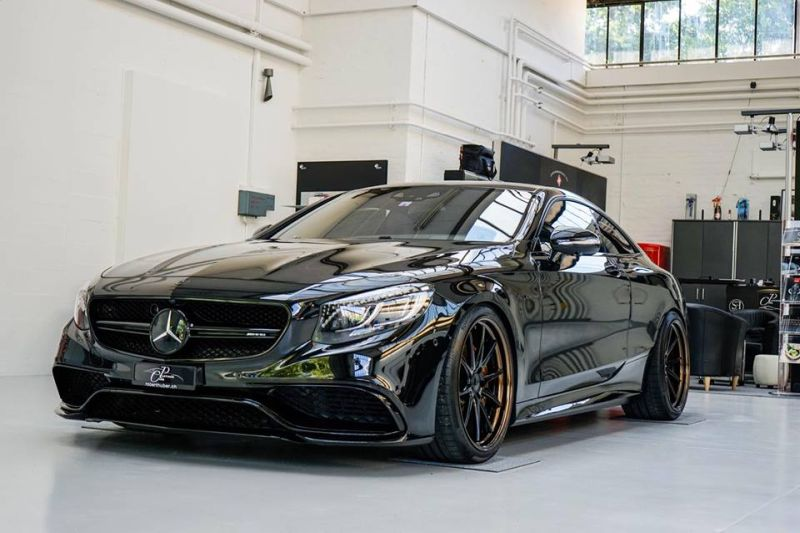 Platinum Cars Mercedes S63 AMG C217 Coupe Tuning Black ADV.1 Wheels 3 Mafia Kiste! Platinum Cars Mercedes S63 AMG C217 Coupe