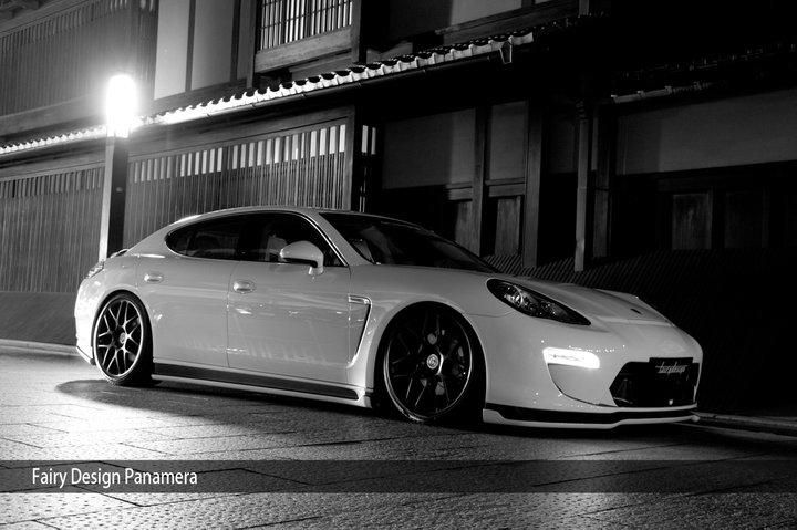 Porsche Panamera Bodykit Fairy Design Tuning Japan (15)