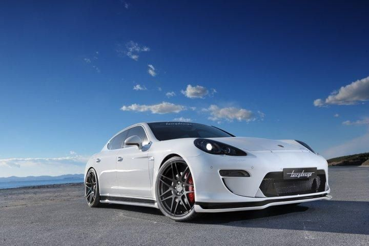 Porsche Panamera Bodykit Fairy Design Tuning Japan (7)