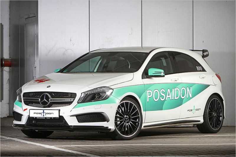 Posaidon Mercedes A45 AMG RS485 500PS Chiptuning 1 Da geht noch was   Posaidon Mercedes A45 AMG RS485+ mit 500PS
