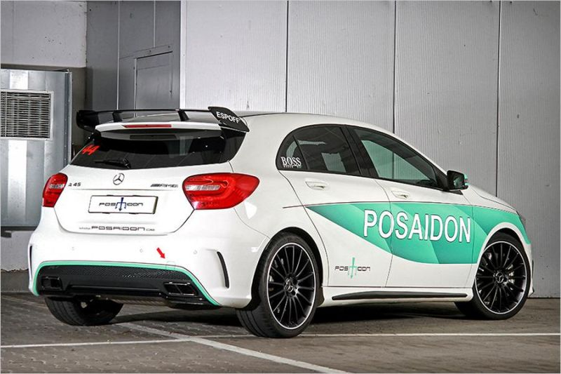 Posaidon Mercedes A45 AMG RS485 500PS Chiptuning 2 Da geht noch was   Posaidon Mercedes A45 AMG RS485+ mit 500PS