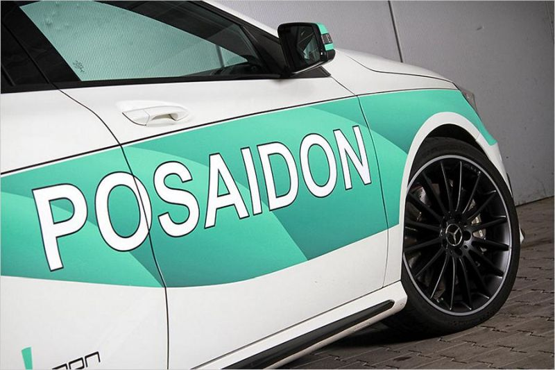 Posaidon Mercedes A45 AMG RS485 500PS Chiptuning 3 Da geht noch was   Posaidon Mercedes A45 AMG RS485+ mit 500PS