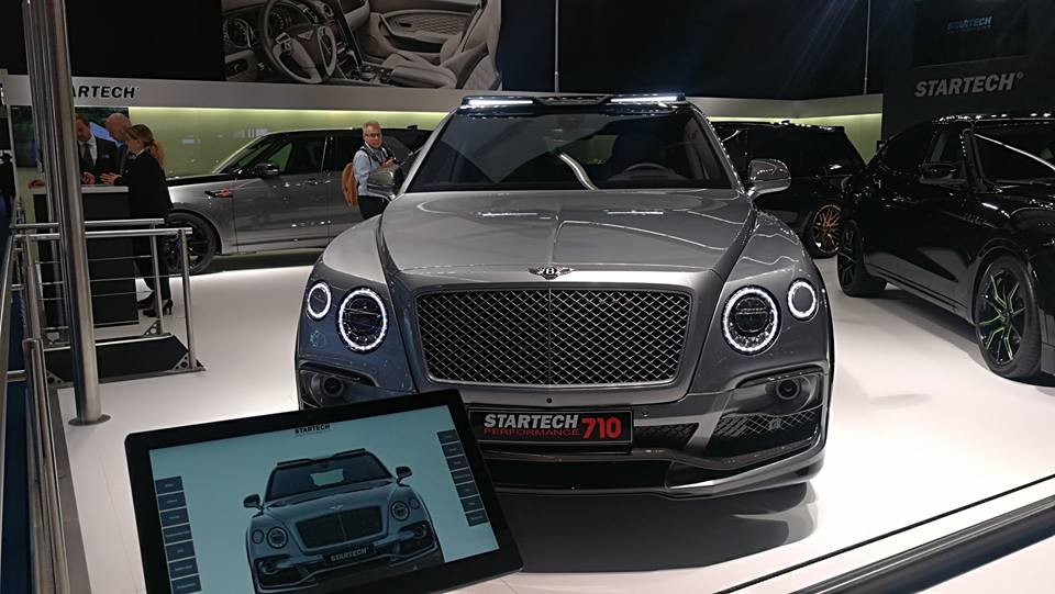 STARTECH Widebody Kit Bentley Bentayga SUV 1 1 STARTECH Widebody Kit für das neue Bentley Bentayga SUV