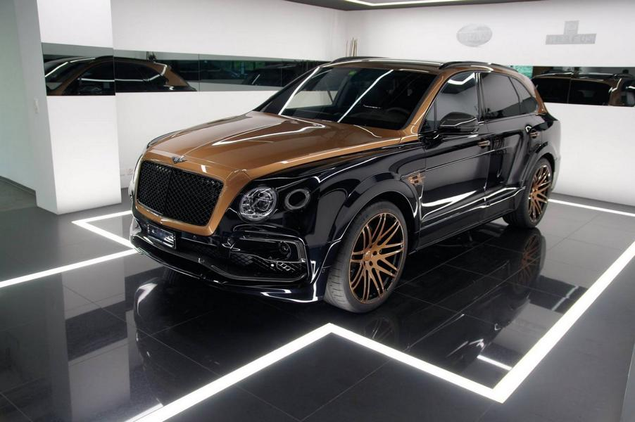 STARTECH Widebody Kit Bentley Bentayga SUV 1 2 STARTECH Widebody Kit für das neue Bentley Bentayga SUV