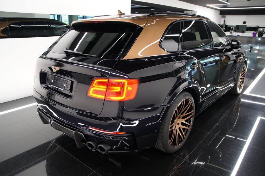 STARTECH Widebody Kit Bentley Bentayga SUV 4 2 STARTECH Widebody Kit für das neue Bentley Bentayga SUV