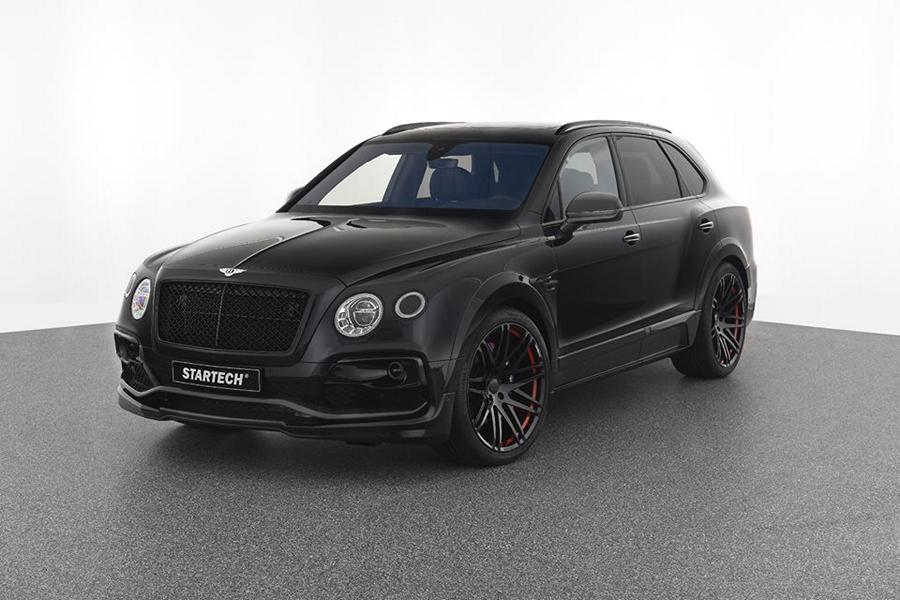 STARTECH wide body kit for the new Bentley SUV Bentayga