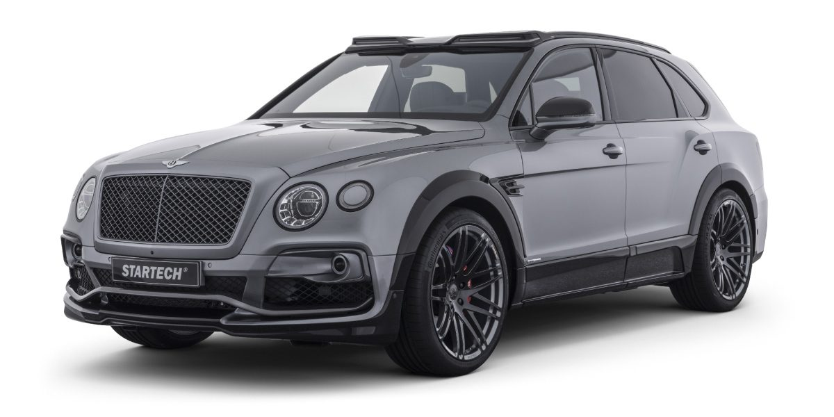 STARTECH Widebody Kit Bentley Bentayga SUV Tuning 2 STARTECH Widebody Kit für das neue Bentley Bentayga SUV