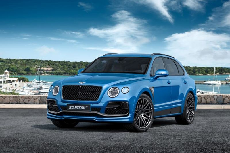 STARTECH Widebody Kit Bentley Bentayga SUV Tuning 2016 1 STARTECH Widebody Kit für das neue Bentley Bentayga SUV