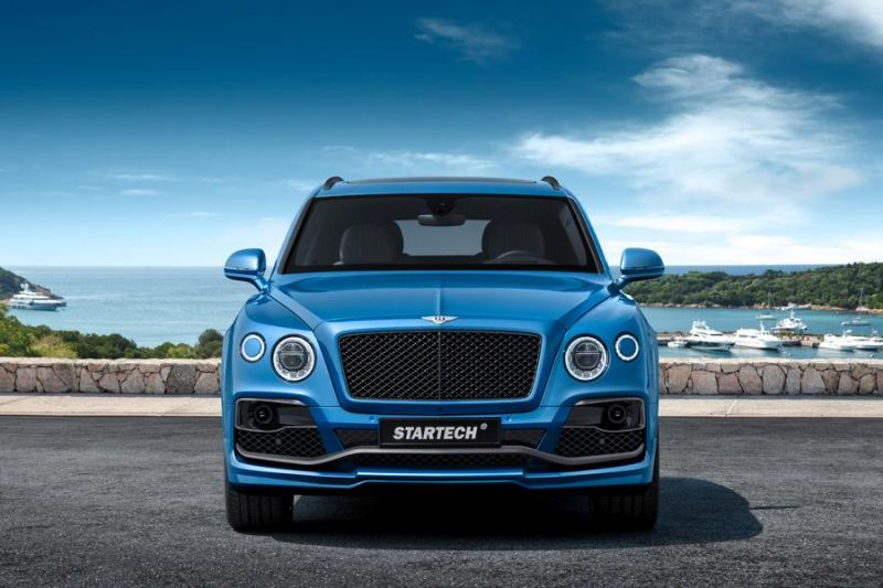 STARTECH Widebody Kit Bentley Bentayga SUV Tuning 2016 3 STARTECH Widebody Kit für das neue Bentley Bentayga SUV