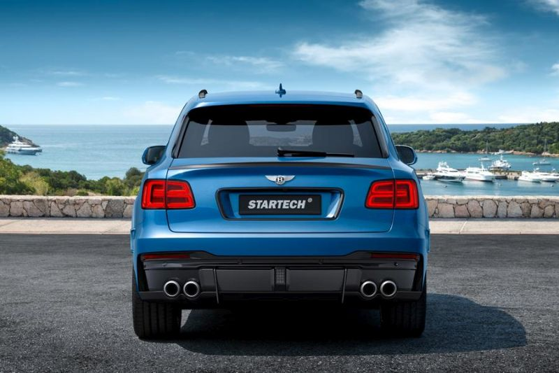 STARTECH Widebody Kit Bentley Bentayga SUV Tuning 2016 5 STARTECH Widebody Kit für das neue Bentley Bentayga SUV