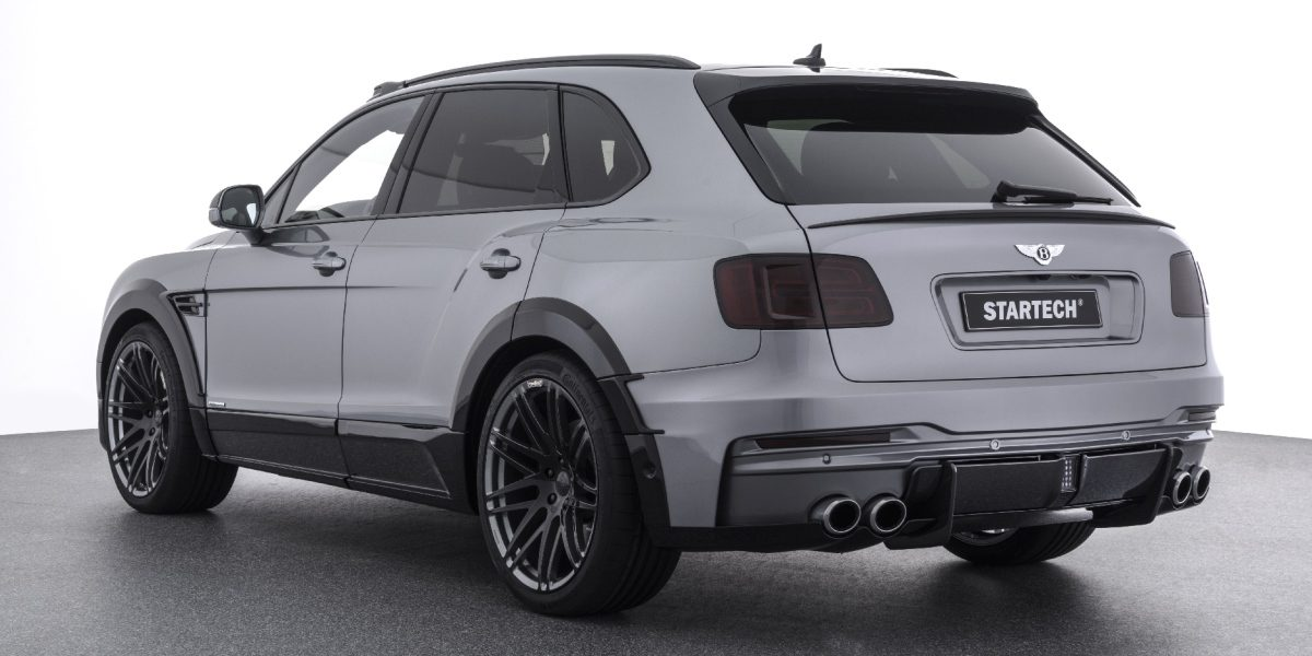 STARTECH Widebody Kit Bentley Bentayga SUV Tuning 3 STARTECH Widebody Kit für das neue Bentley Bentayga SUV