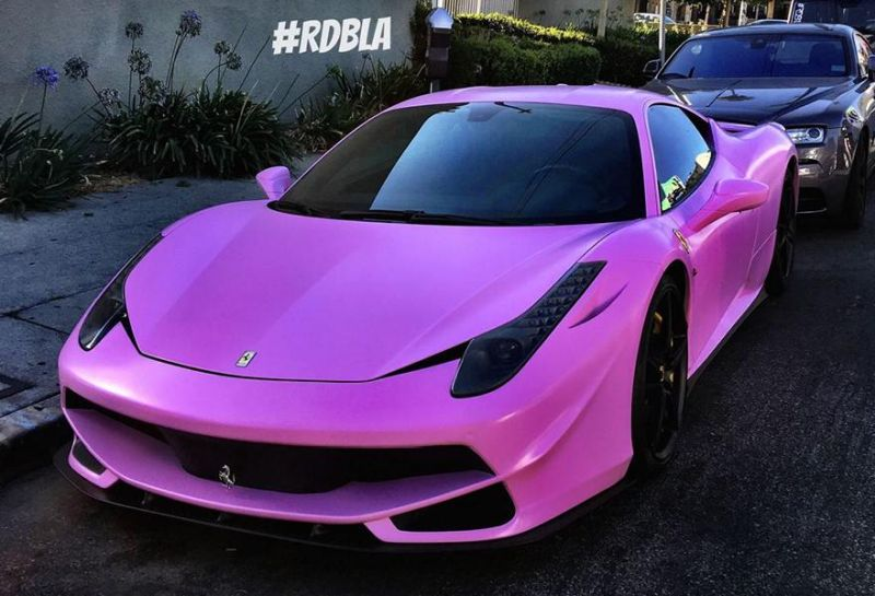 Satin-matt-Rosa - Pimp my Ferrari 458 Italia by RDB LA Auto Shop ...