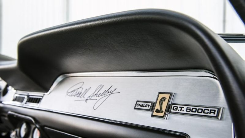 Shelby GT500CR 900S Classic Recreations Restomod Tuning 2016 (40)