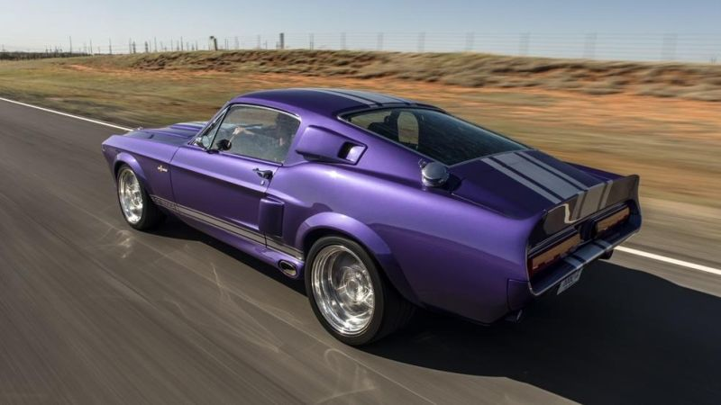 Shelby GT500CR 900S Classic Recreations Restomod Tuning 2016 (48)