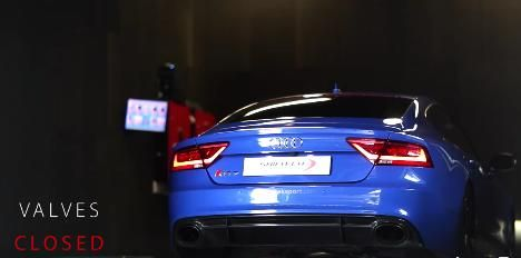 Soundcheck - AUDI RS7 & Milltek Valvesonic Plus Technology